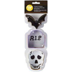 Utstikkersett Halloween RIP, 3 dl