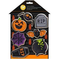 Utstikker Halloween 7 deler