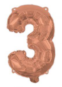 Ballong Rosegull Folie #3, 94cm