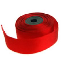 Silkebånd Rødt 10m x 25mm (30322)