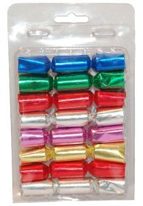 Knallbon-bon mini 8 stk ass farger m/vits (190037)