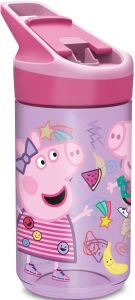 Drikkeflaske Peppa Pig Rosa 480ml (Tritan)