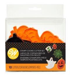 Utstikker sett Halloween Wilton 10dl