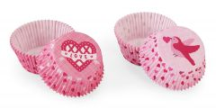 Muffinsform STD Valentine Love Birds, 48 stk