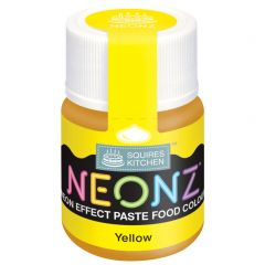 Food Colour Paste Yellow Neon Effect 20g