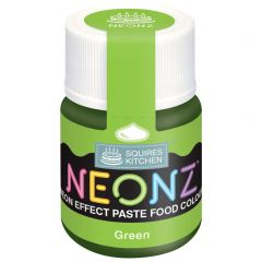 Food Colour Paste Green Neon Effect 20g