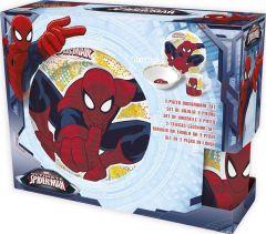 Barnesett i keramikk 3 deler, Spiderman