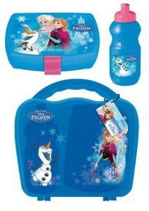 Lekekoffert Frozen med matboks og drikkeflaske