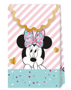 Gavepose i papir Minnie Gem, 6 stk