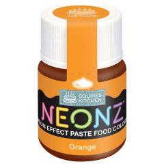 Food Colour Paste Orange Neon Effect 20g