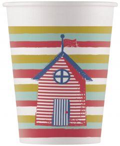 Drikkekrus i Papp, Happy Ice Cream 8 stk