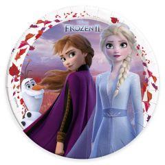 Papptallerken Frozen 2 Destiny Awaits 23 cm, 8 stk