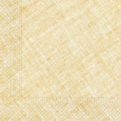 Papirservietter Compostable Gul Textile 20 stk, 3