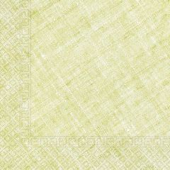 Papirservietter Compostable Lime Grønn Textile 20