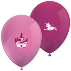 Ballonger Enhjørning, 6 stk