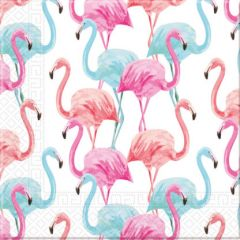 Papirservietter Flamingo Compostable 20 stk, 33x33