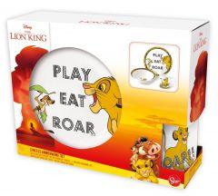 Barnesett i keramikk 3 deler, Lion King