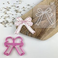 Ballet Bow Cookie Cutter and Embosser