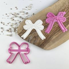 Ballet Bow Cookie Cutter and Stamp