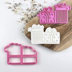 Birthday Presents Cookie Cutter and Stamp