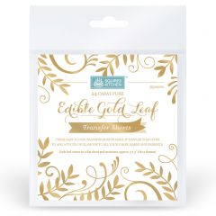 SK Edible Gold Leaf Transfer Sheets Book of 25