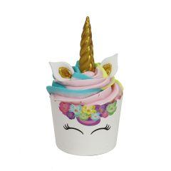 Muffinsformer Unicorn med sukkerdek, 6 sett