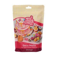 Candy Deco melts Oransje, 250 g