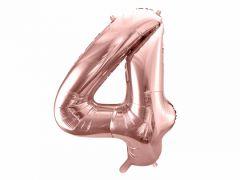 Ballong Rosegull Folie #4, 86cm