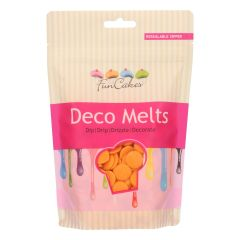 Candy Deco melts Orange, 250 g