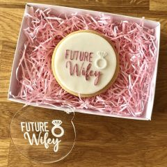 Future Wifey with Ring Cookie Embosser