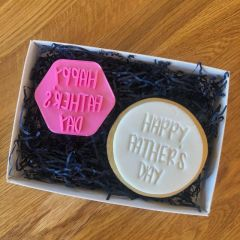 Happy Father's Day Style 1 Cookie Stamp