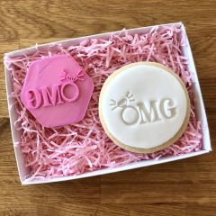 OMG Engagement Cookie Stamp