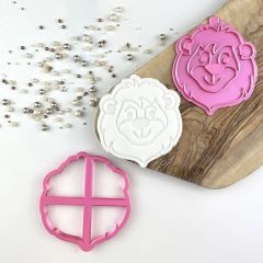 Lion Jungle Cookie Cutter and Stamp