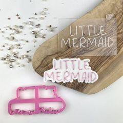 Little Mermaid Under The Sea Cookie Cutter and Embosser
