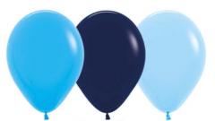 Ballonger Blå Ass Fashion 30cm, 12 PK