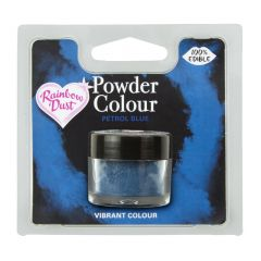 Powder Colour spiselig Petrol Blue, 2g