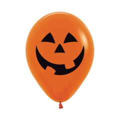 Ballonger Halloween Orange 30cm, 25 PK