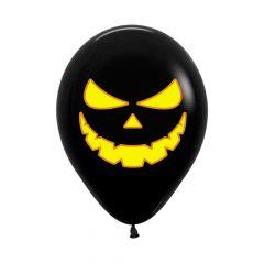 Ballonger Halloween Sorte 30cm, STK
