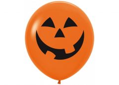 Ballonger Halloween Orange 90cm, 10 PK