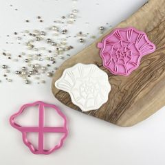 Shell Spiral Under The Sea Cookie Cutter and Stamp