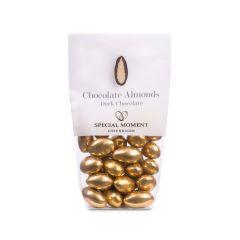 Mandel m/ mørk sjokolade 55% - Gull Vintage 120g