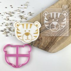 Tiger Jungle Cookie Cutter and Embosser