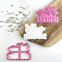Welcome Little One Baby Shower Cookie Cutter and Stamp