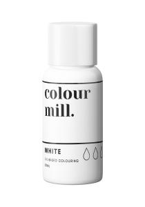 Oil Based Colouring 20ml White