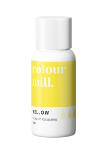 Oil Based Colouring 20ml Yellow