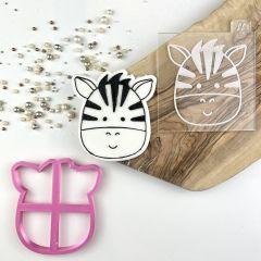 Zebra Jungle Cookie Cutter and Embosser
